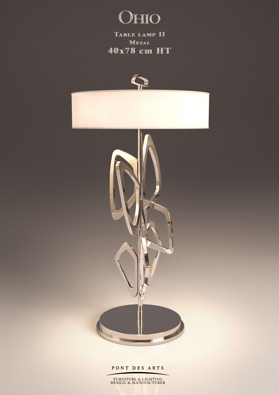 Ohio Table Lamp Designer Monzer Hammoud Pont Des Arts Studio Paris