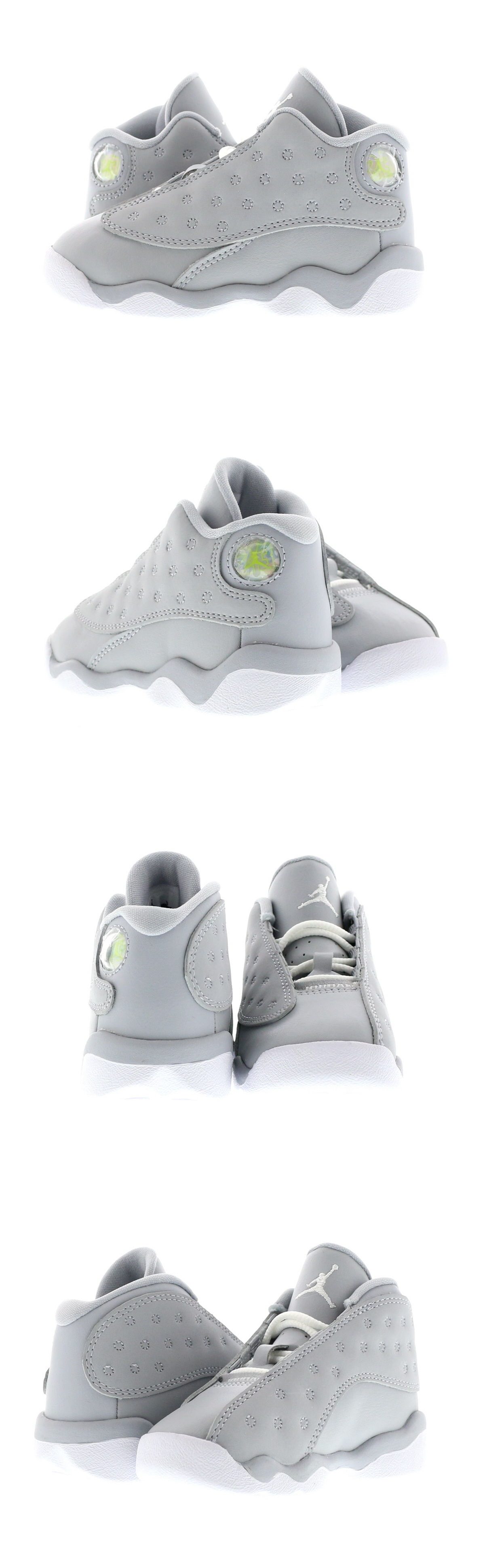 11f8962c33bf Baby Shoes 147285  Infant (Td) Air Jordan 13 Retro Wolf Grey White-Pink  684802-018 -  BUY IT NOW ONLY   50 on eBay!