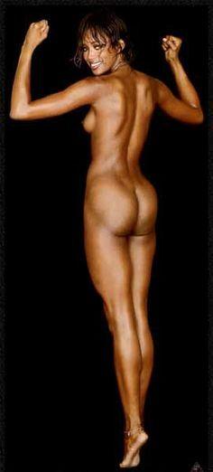 Nude naked naomi campbell