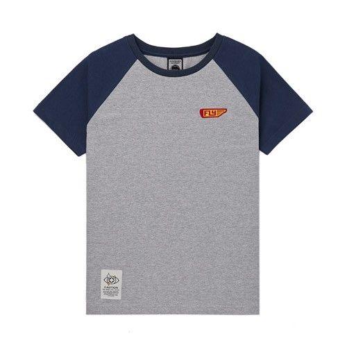 구김스 093_GNV 플라이 나그랑 반팔 티셔츠 (G13MMRT405)