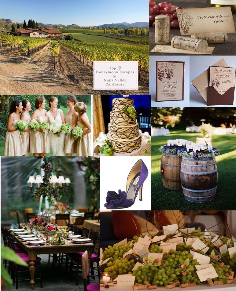love wedding at a vinyard