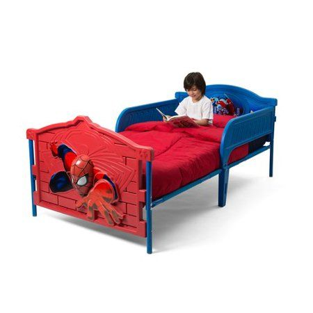 Marvel Spider Man 3d Twin Bed With Mattress Bundle Products Kids