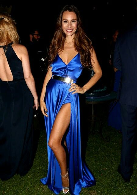 Vestido azul electrico sport