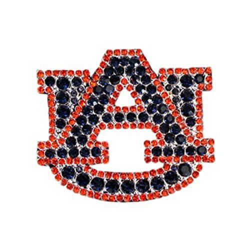 great for mother s day graduation auburn tigers crystal logo pin rh pinterest com Auburn Football Logo Auburn Tigers Logo