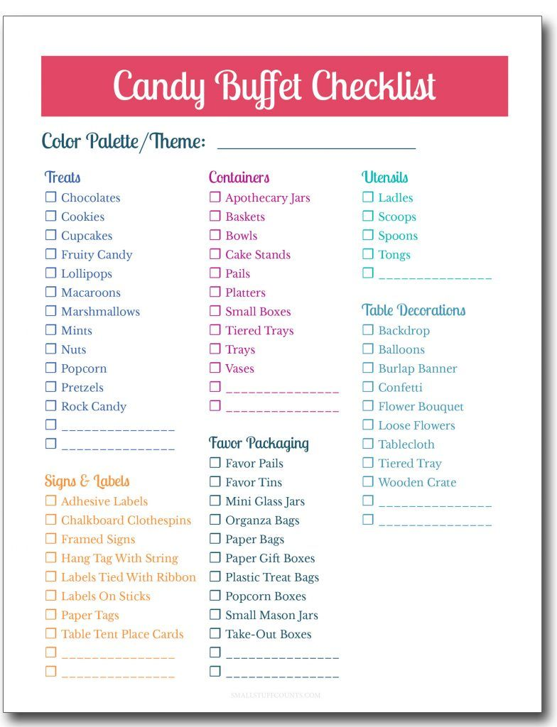 The complete guide to a diy candy buffet for your party or wedding such good ideas for a candy buffet for our wedding or our next party love thecheapjerseys Image collections