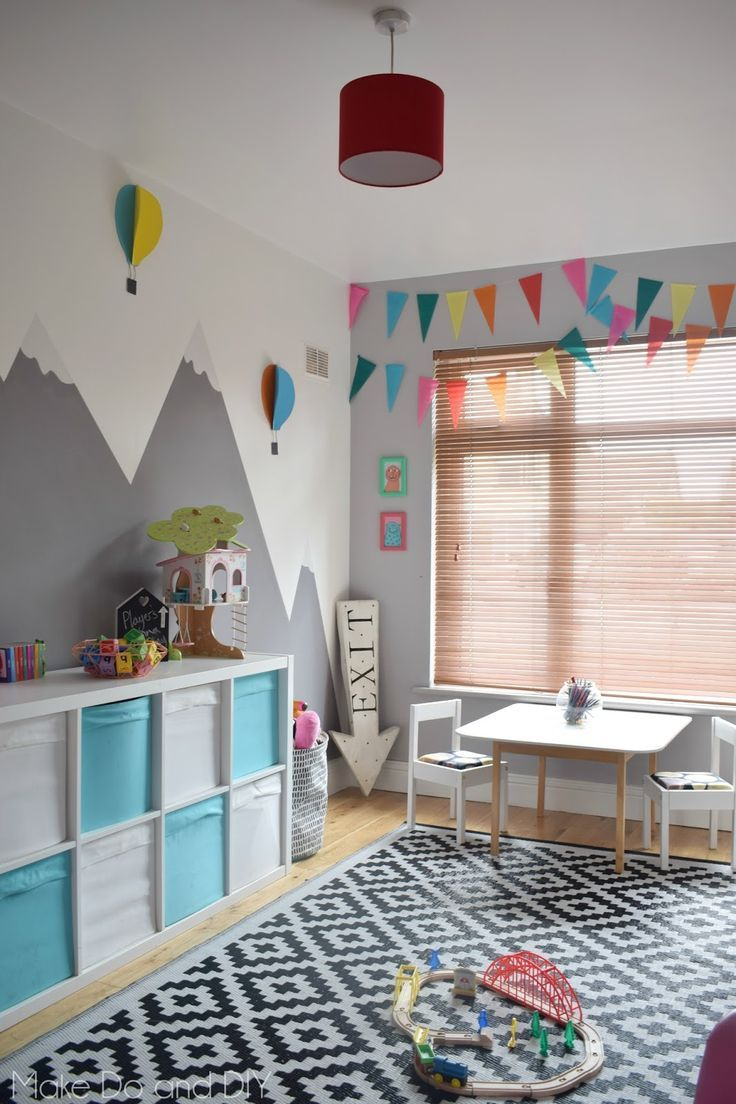 Idee Deco Salle De Jeux Adventure Playroom Makeover Diy Angie S Favorites Pinterest