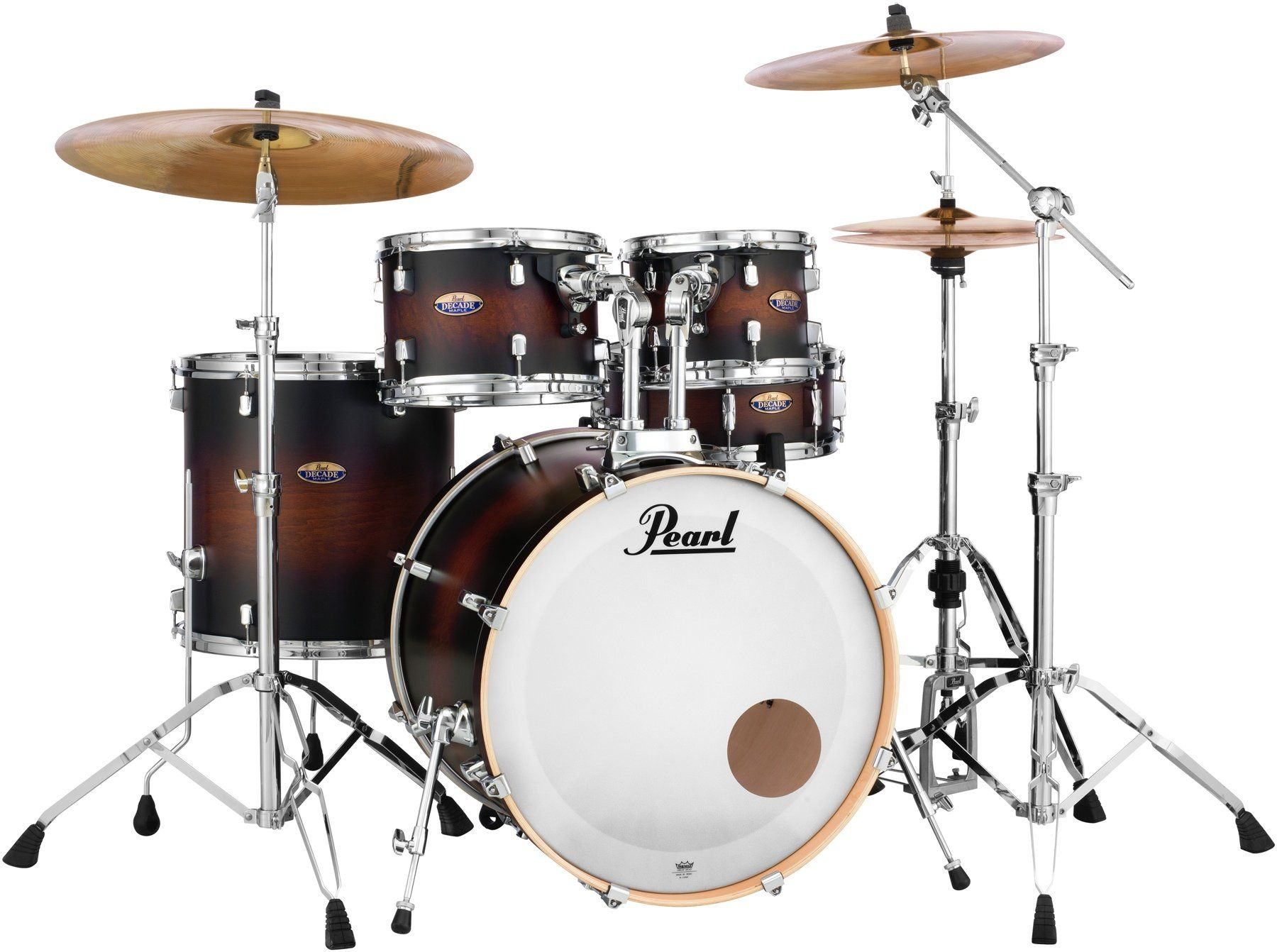 Pearl Decade Maple 5 Piece Shell Pack 22 Kick Satin