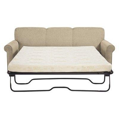 Phenomenal Cansler Queen Sofa Sleeper Light Brown Signature Design By Interior Design Ideas Truasarkarijobsexamcom