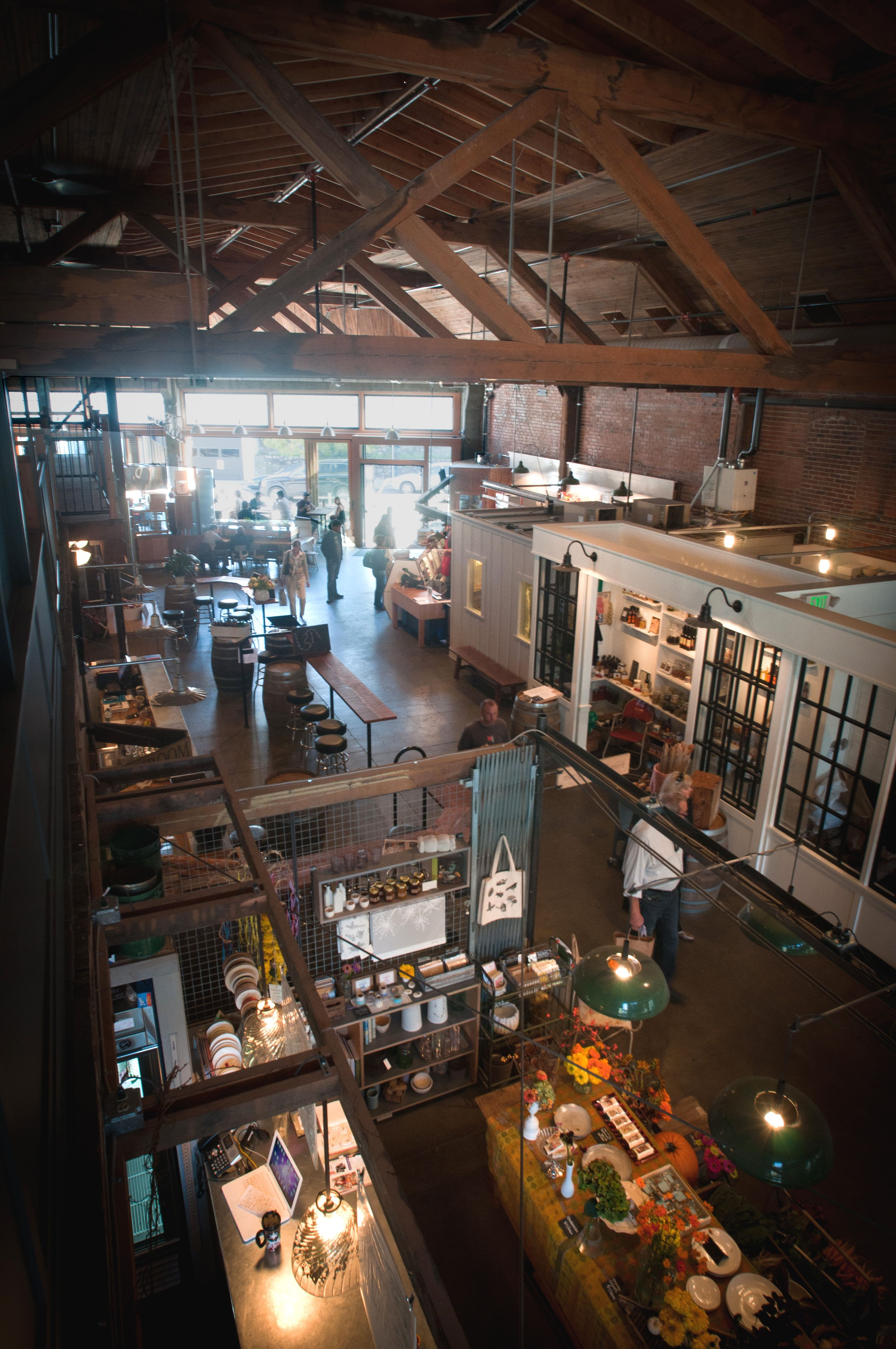 America S Best Food Halls Architecture Melrose Market Seattle