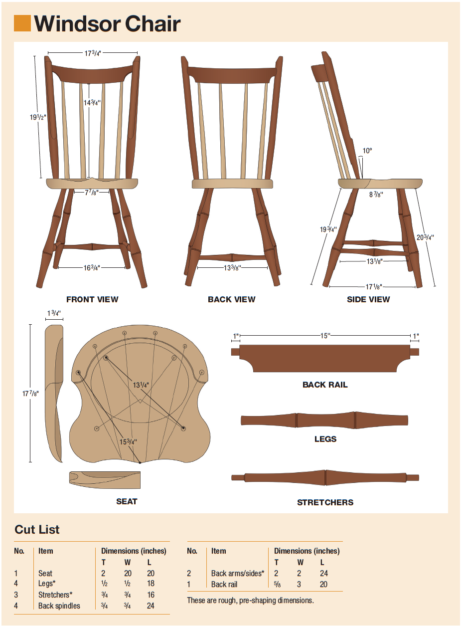 8 Houten Stoelen.How And Why To Build A Windsor Chair Houtverbindingen En Hout