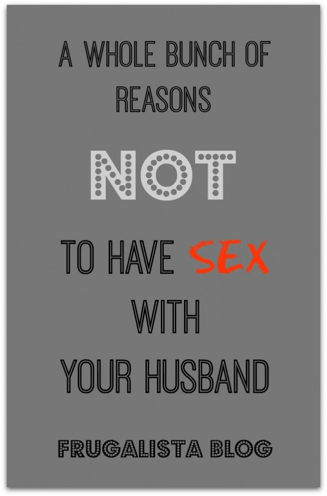 Not having sex with husband-9207