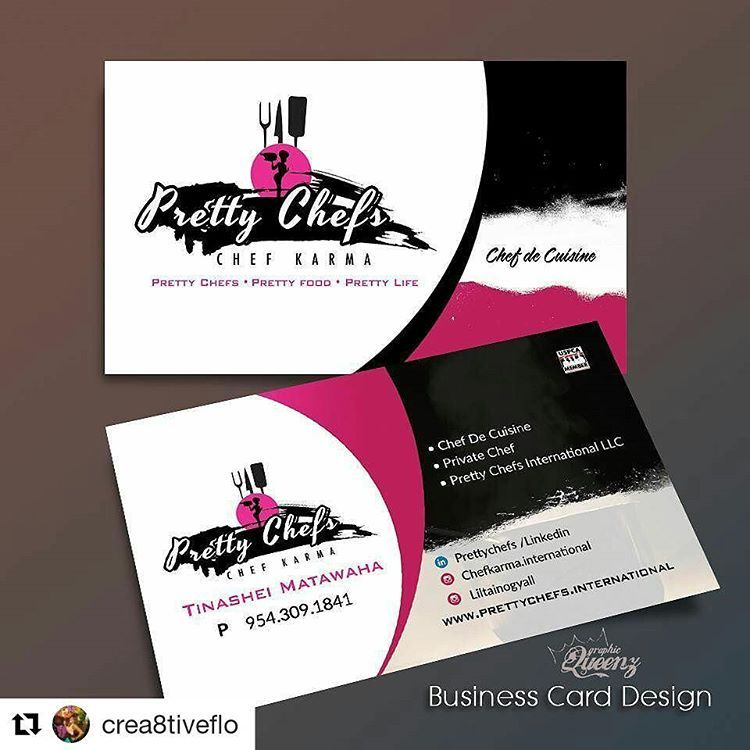 Credit to crea8tiveflo getrepost looking for business credit to crea8tiveflo getrepost looking for business cards postcards for your business make a statement chef prettygirls logos cooking reheart Gallery