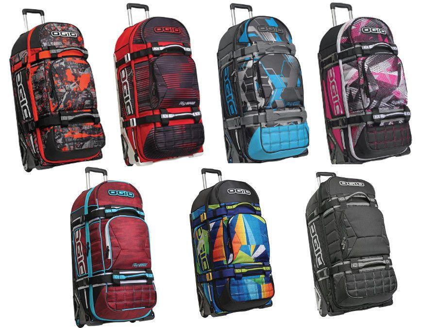 Ogio Rig 9800 Rolling Luggage Wheeled Travel Track Gear Bag