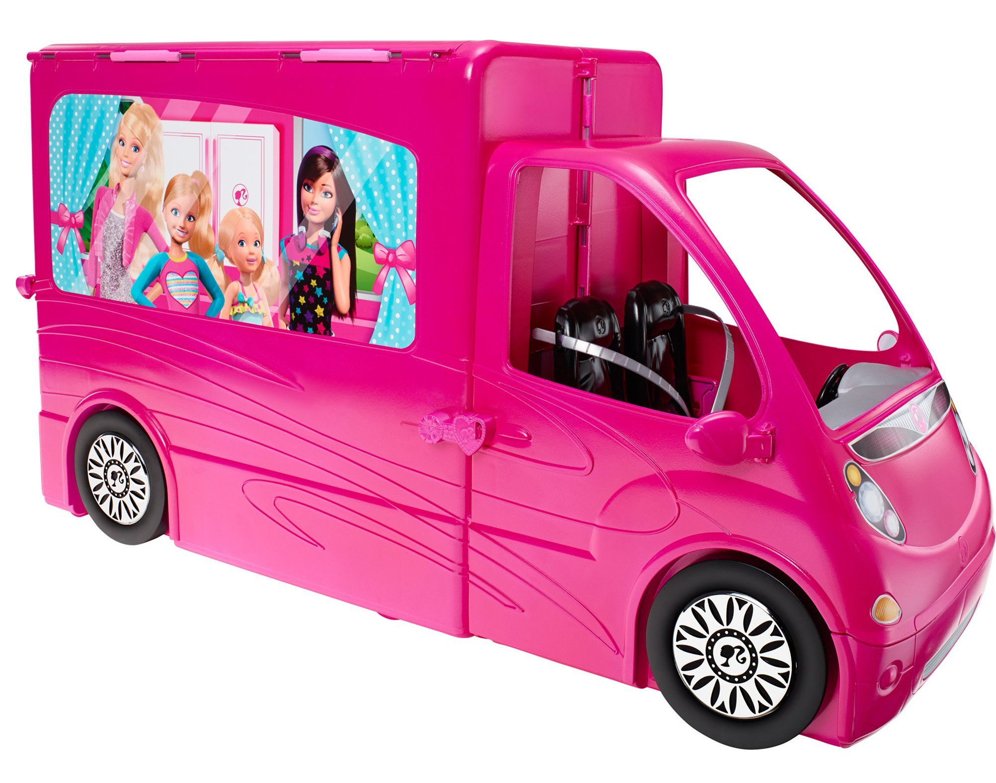 Barbie Sisters Life in The Dreamhouse Camper With this Camper