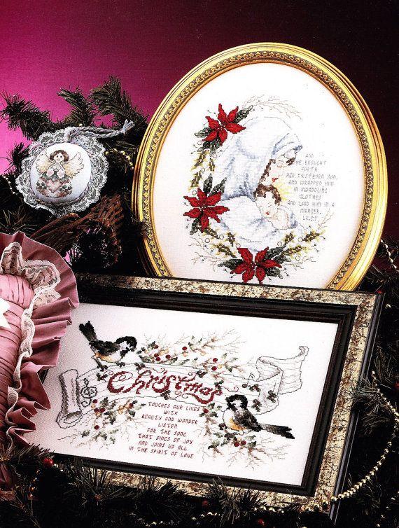 Christmas Splendor Cross Stitch Pattern Booklet