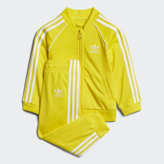 adidas green and yellow tracksuit