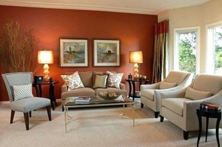 Living Room Paint Ideas Inspirational Living Room Wall Colors Idea Accent Wall Paint Color Living Room Wall Color Living Room Orange Living Room Warm