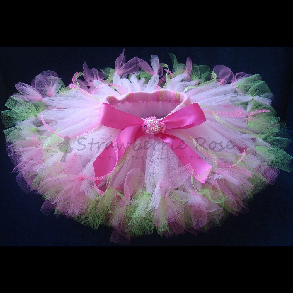 Bebé niñas cumpleaños Tutu vestido traje por StrawberrieRose ...