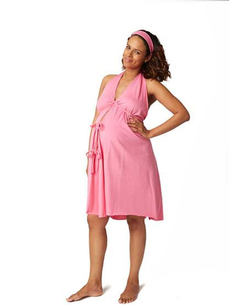 4dfc82627a Pretty Pushers Labor   Delivery Gown  Hot Pink