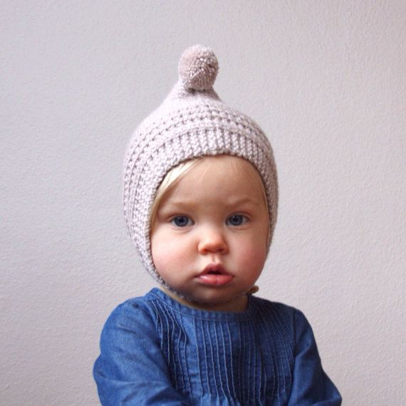 KNITTING PATTERN PDF File Knit Pixie Bonnet by hilaryfrazier | baby ...