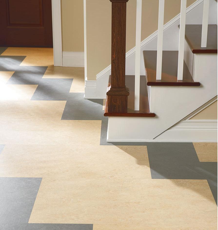 Sustainable Flooring Bamboo, Marmoleum, Linoleum Time