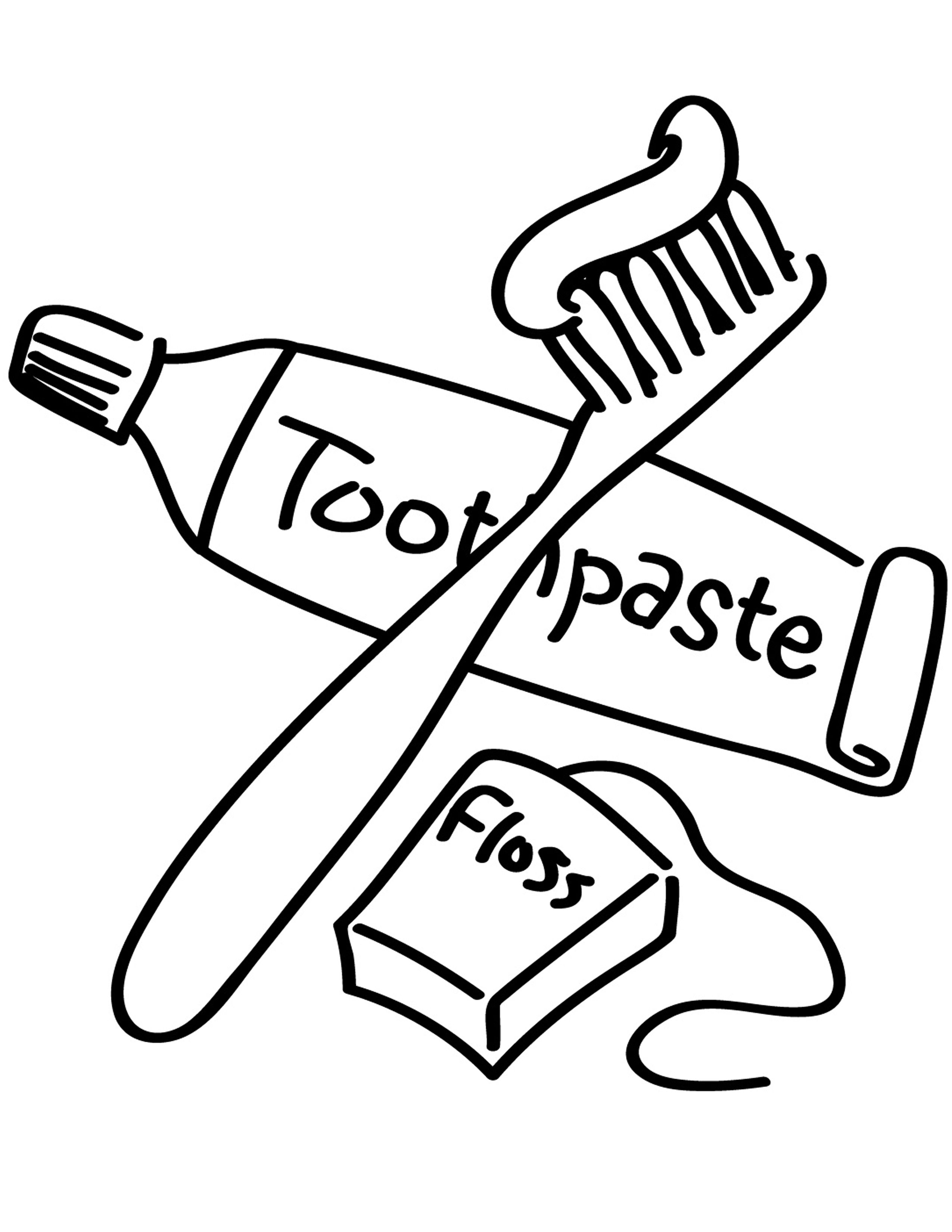 13+ Brushing teeth clipart black and white information