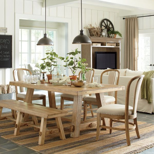 Birch Lane Orleans Pendant Dining Table Dining Table In Kitchen Country Dining