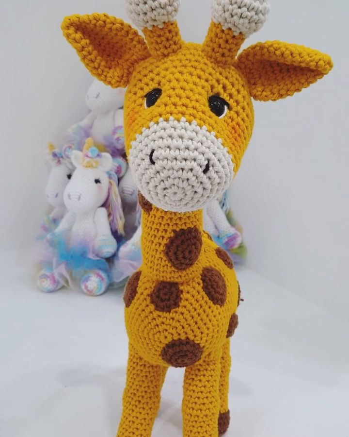 LARGE GIRAFFE Crochet Patterns – Amigurumi Crochet pattern – PDF Digital Instant Download