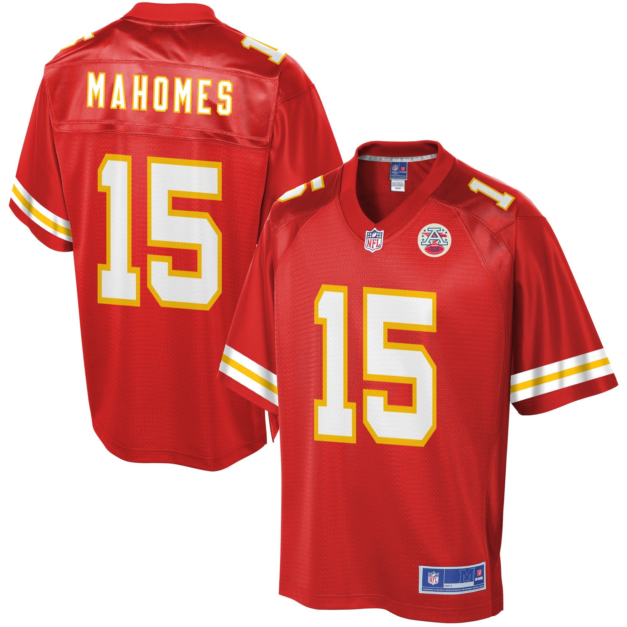 Men s Kansas City Chiefs Patrick Mahomes NFL Pro Line Red Jersey size XL 3d61c88ac