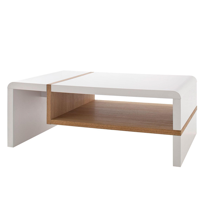 Couchtisch Oval Rund Couchtisch Weiss Braun Glastisch Rund 90 Cm
