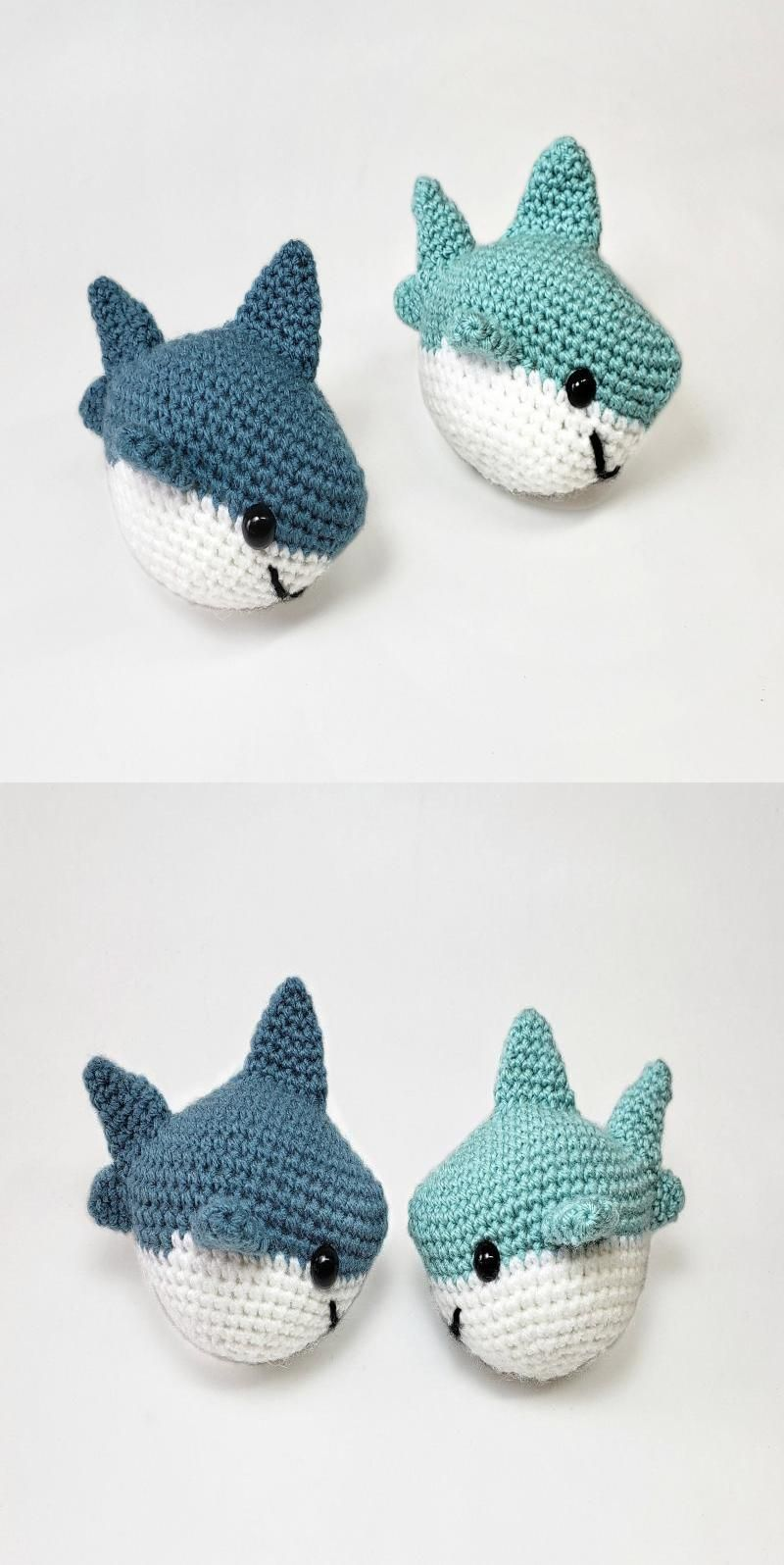 Ravelry: Baby Shark amigurumi pattern by Ami Little Creature   1596x800