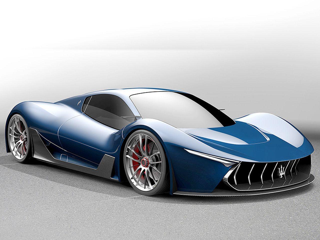 Der Nachfolger Des Maserati Mc12 Konnte Sich Seine Basis Mit Dem