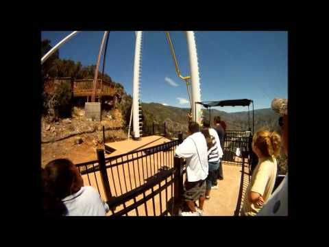 Swing Chair Over Canyon Big And Tall Office Chairs Amazon Glenwood Springs Giant Onboard Swings You Out The Yikes