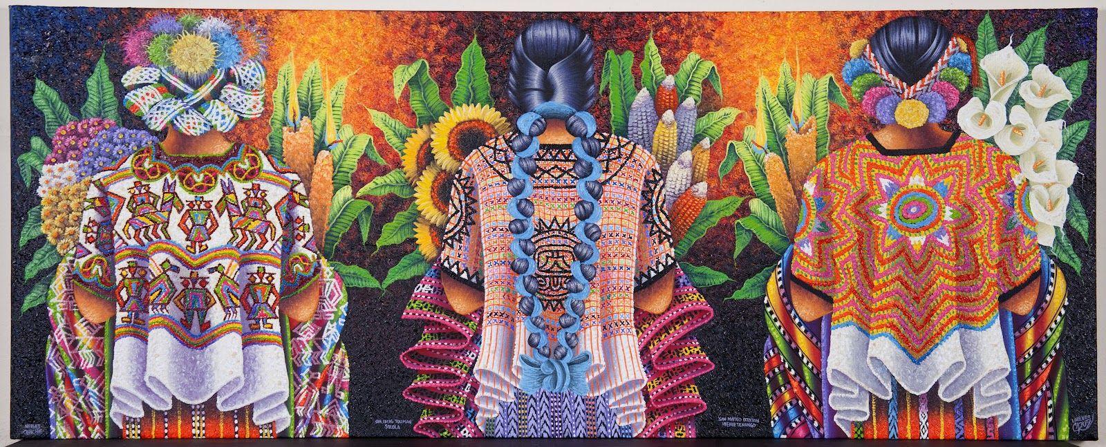 Girasoles y flores. Guatemala. Lorenzo cruz sunu.