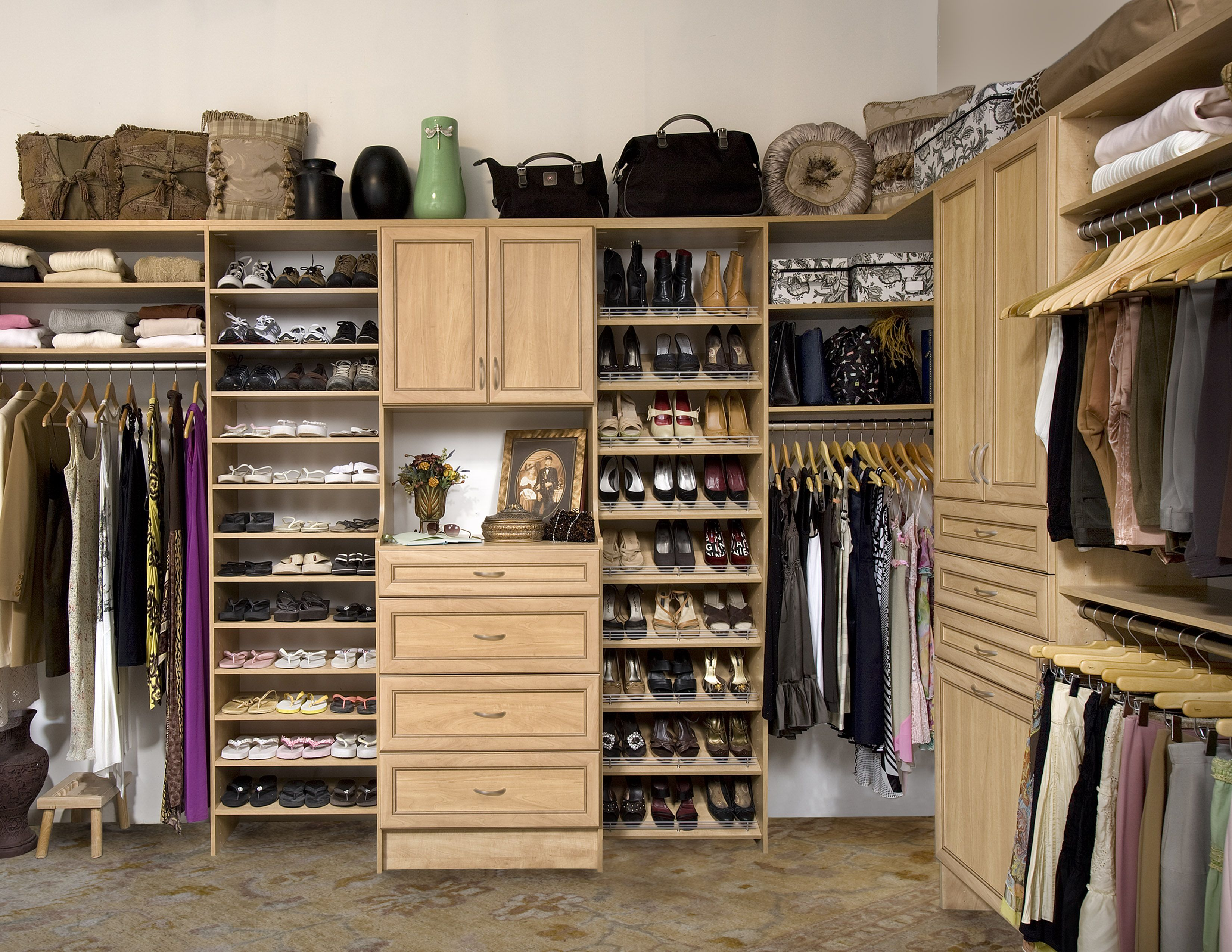 Closet Organizer Service see a galley of our products and services in action. see how