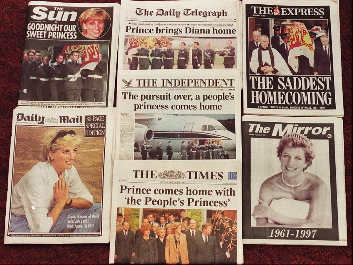 Princess Diana Autopsy, Before Death Photos