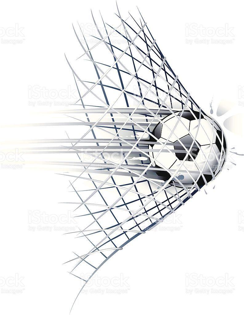 Soccer Goal Royalty Free Stock Vector Art Soccer Soccer Memes Voetbal Kunst Voetbal Tatoeages Voetbal