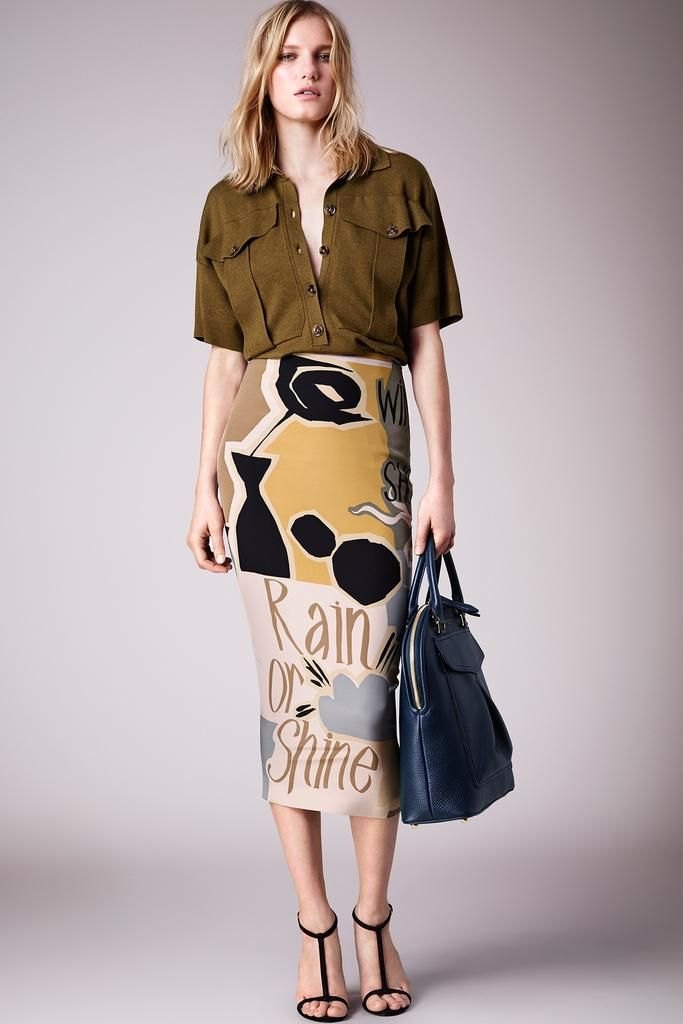 Burberry Prorsum Resort 2015 - Collection - Gallery - Look 1 - Style.com