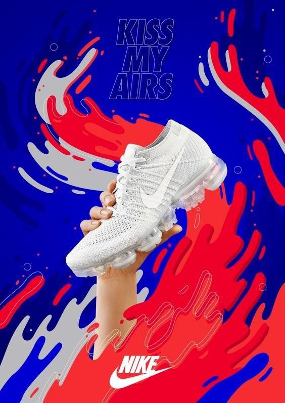 nike advertising in 2020 | Shoe poster, Graphic design ...