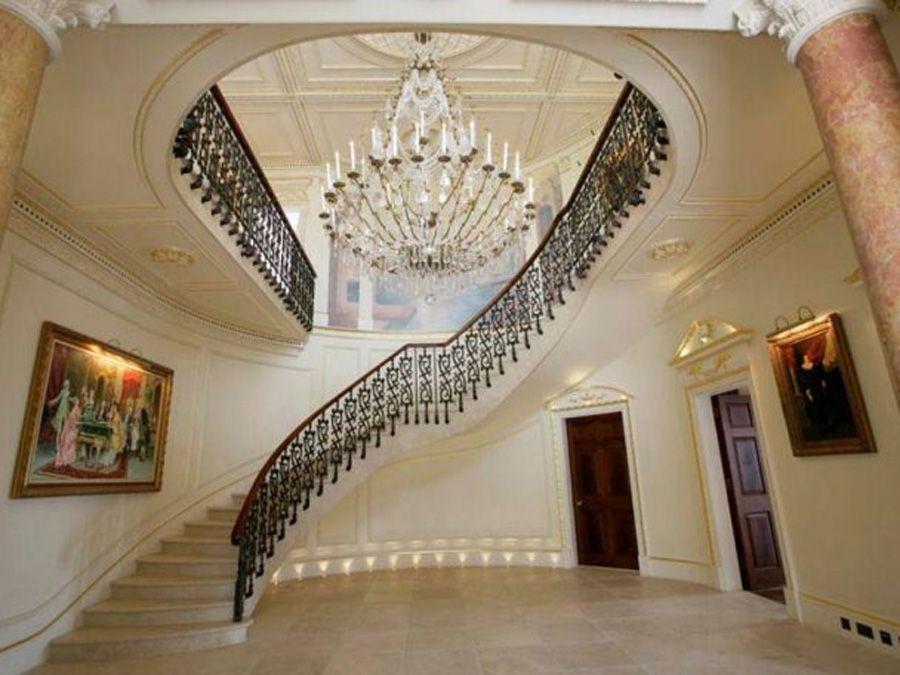 Best Elegant Georgian Style Staircase Home Decor 640 x 480
