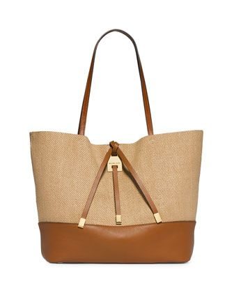 miranda large novelty tote bag luggage by michael kors at neiman rh pinterest com