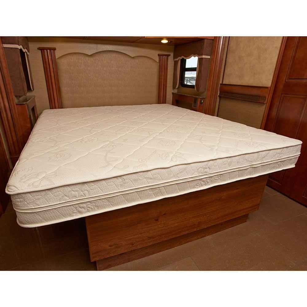 Motorhome Innerspace Luxury Deluxe 8 Memory Foam Rv Mattress In A Box Short Queen Mattress Memory Foam Adjustable Beds