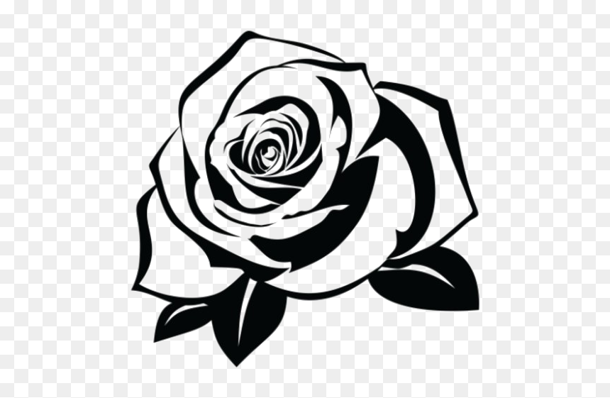 Rose Tattoo Transparent Background Hd Png Download Is Pure And Creative Png Image Uploaded By Designer To Search Rose Tattoo Tribal Rose Tattoos Tribal Rose