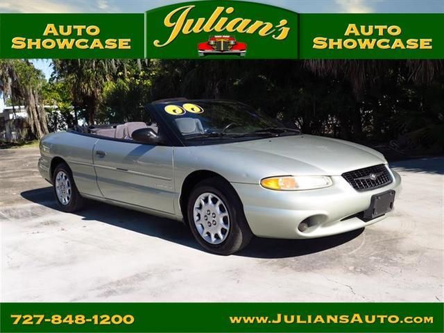 2000 Chrysler Sebring Jx Convertible For Sale In New Port Richey