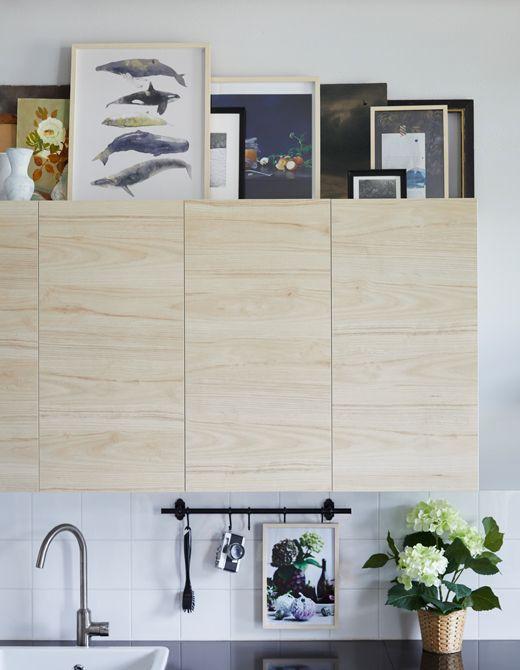 oggetti da esporre sopra i pensili. | Cucina | Pinterest | Pensili e ...
