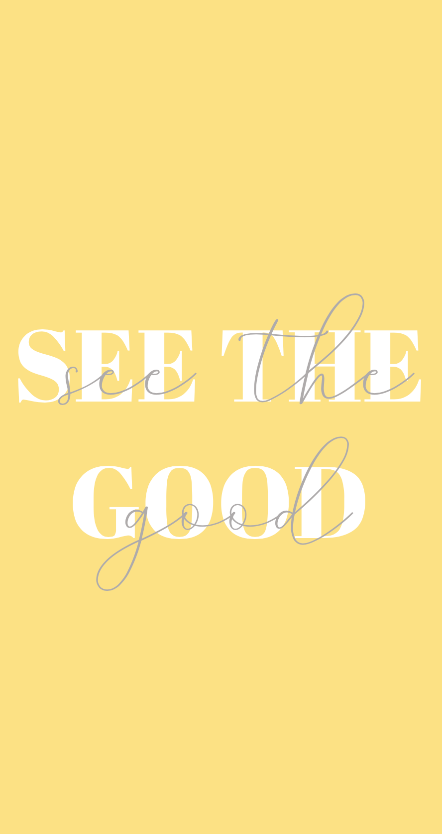 See the good yellow quote wallpaper - iphone background, iphone