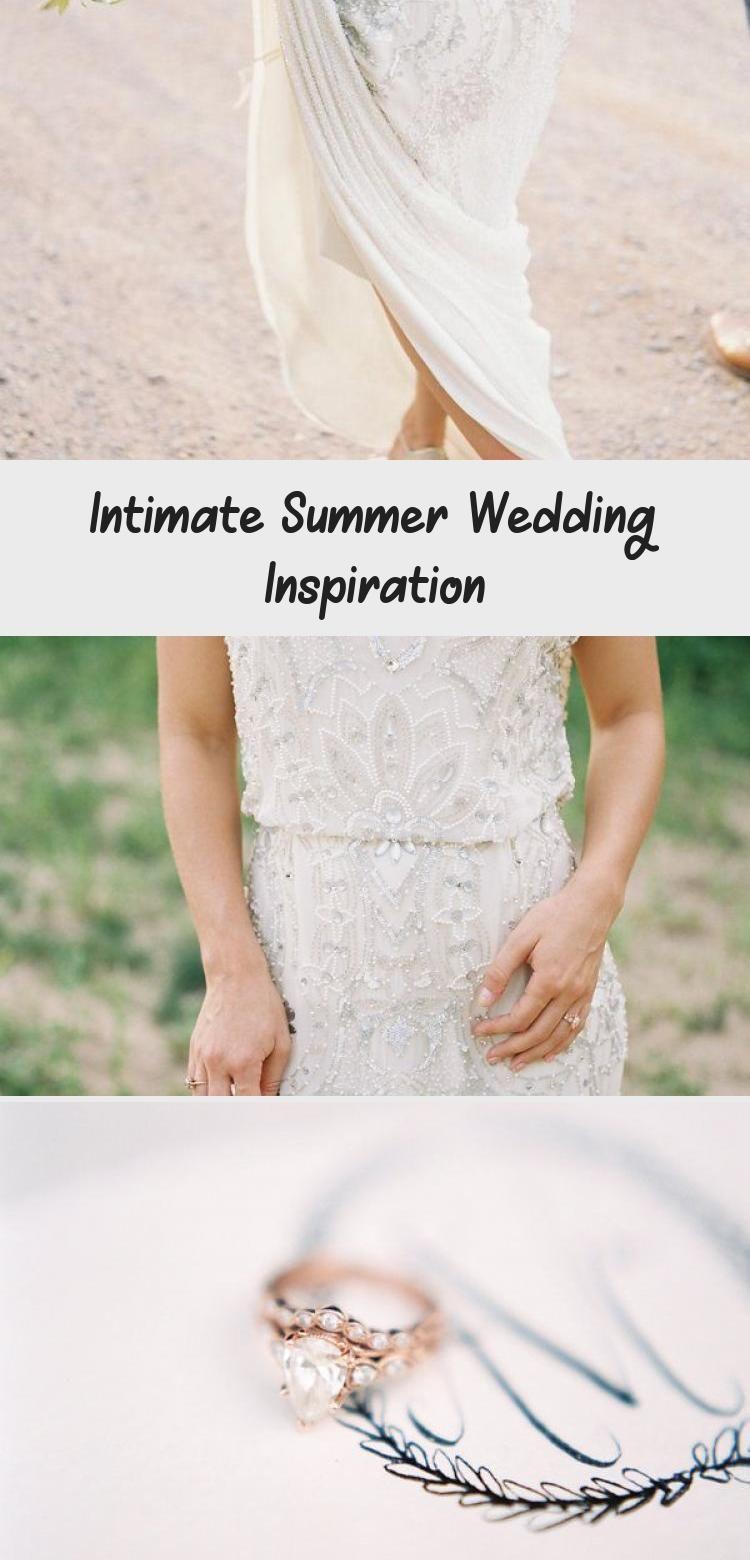 Intimate Summer Wedding Inspiration Clothing Dress Intimate