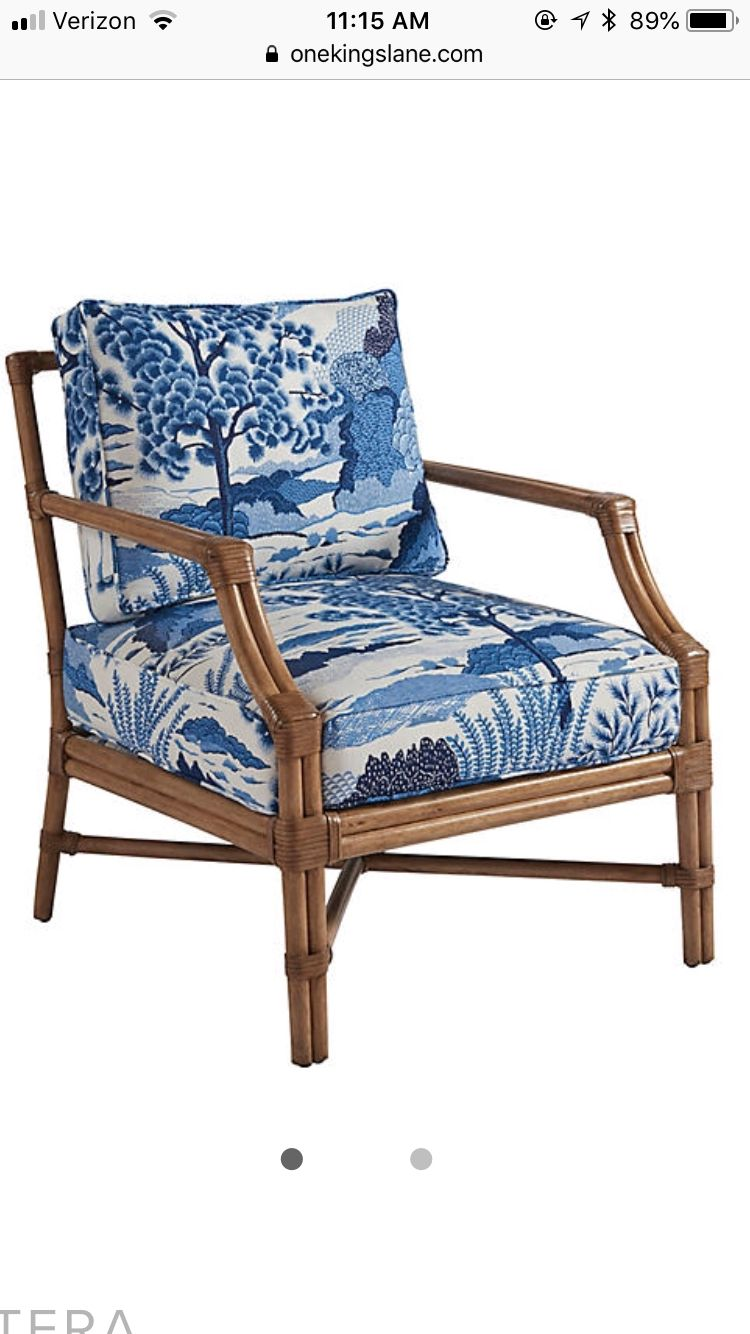 Best Pin By Judite On Blue And White Blue Accent Chairs 400 x 300