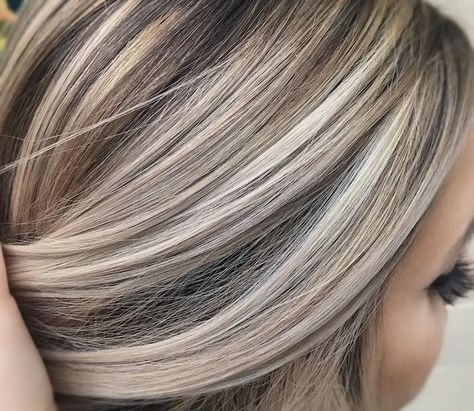 ▷1001 + Ideas for Brown Hair With Blonde Highlights or Balayage #blondehair