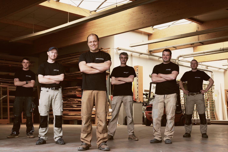 Geitner Schreiner Teamfotos